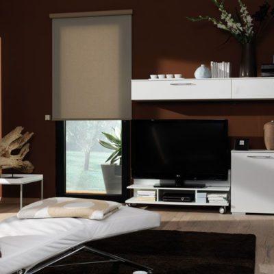 Flächenvorhänge TV-Zimmer
