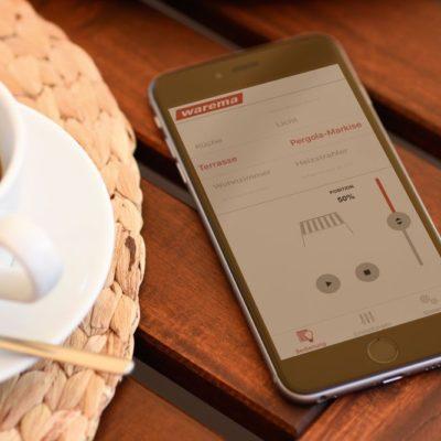 Warema App Steuerung